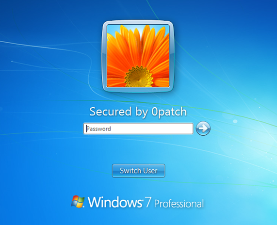 Windows 7 and Windows Server 2008 security-adopted by 0patch